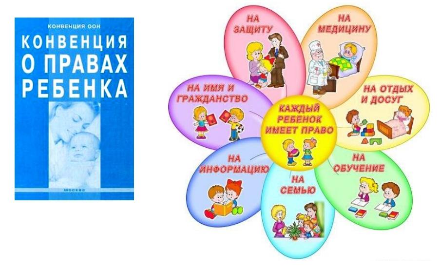 1. конвенция о правах ребенка